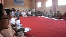 On June 20, 2012, stakeholders, including representatives from the District Development Committee, heads of district line agencies, local political leaders, journalists, and farmers, held a workshop in Daman, Nepal to initially establish boundaries of the landscape