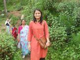 Women in meetings for Mahila Haat