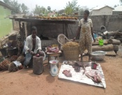 Household engaged in oil palm and bush meat business