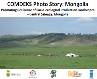 COMDEKS Photostory - Mongolia