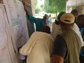 Community consultation process at the landscape level, Bogo Cameroon 2