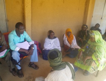 Local artisans were interviewed during the baseline assessment