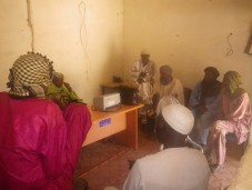 Local farmers were consulted during the baseline assessment in Tabalak.