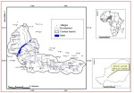 Map of target landscape area in Niger
