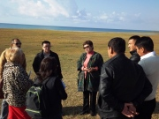 A field visit with development experts