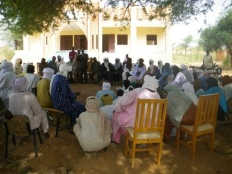 Community Consultation during the baseline assessment.
